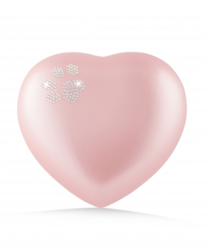 Pet urns heart  Color:  rose