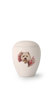 Tierurne Edition Bianco   Rasse: West Highland White Terrier