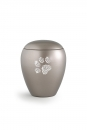 Pet urns Crystal  Color: Olive grey with paw